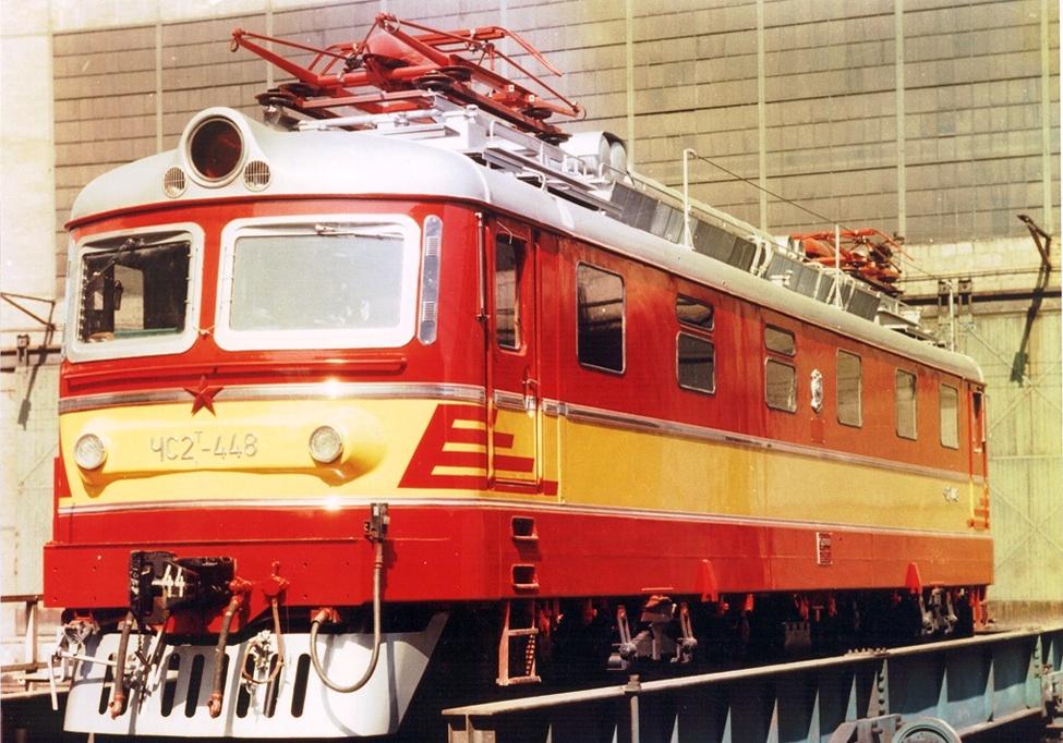 Электровоз ЧС2Т-448 в