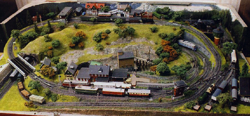 Модели железной дороги своими руками